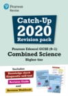 Image for Pearson Edexcel GCSE (9-1) combined scienceHigher tier,: Catch-up 2020 revision pack