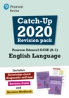 Image for Pearson Edexcel GCSE (9-1) English language: Catch-up 2020 revision pack