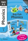 Image for Phonics - Learn at Home Pack 1 (Bug Club), Phonics Sets 1-3 for ages 4-5 (Six stories + Parent Guide + Activity Book)