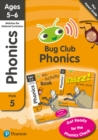 Image for Phonics - Learn at Home Pack 5 (Bug Club), Phonics Sets 13-26 for ages 5-6 (Six stories + Parent Guide + Activity Book)