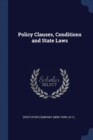 Image for Policy Clauses, Conditions and State Laws