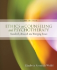 Image for Ethics in counseling and psychotherapy  : standards, research, and emerging issues