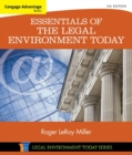 Image for Essentials of the legal environment