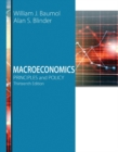 Image for Macroeconomics  : principles and policy