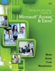 Image for Problem-solving cases in Microsoft Access and Excel