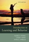 Image for Introduction to learning and behavior