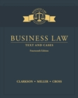 Image for Business law  : text and cases