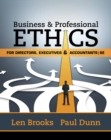 Image for Business & Professional Ethics for Directors, Executives & Accountants
