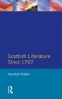 Image for Scottish literature since 1707