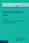 Image for Groups St Andrews 2013 : 422