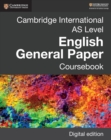 Image for Cambridge International AS Level English General Paper. Coursebook