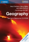 Image for Cambridge IGCSE (R) Geography Teacher's Resource CD-ROM