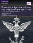 Image for A/AS level history for aqa: Russia in the age of absolutism and enlightenment, 1682-1796