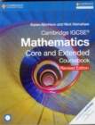 Image for Cambridge IGCSE mathematics core and extended coursebook