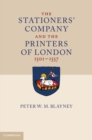 Image for The Stationers' Company and the Printers of London, 1501-1557 2 Volume Paperback Set
