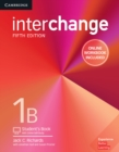 Image for InterchangeLevel 1B,: Student's book : Interchange Level 1B Student's Book with Online Self-Study and Online Workbook