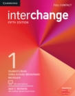 Image for InterchangeLevel 1,: Full contact : Interchange Level 1 Full Contact with Online Self-Study