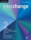 Image for InterchangeLevel 2,: Full contact : Interchange Level 2 Full Contact with Online Self-Study