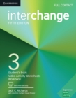 Image for InterchangeLevel 3,: Full contact : Interchange Level 3 Full Contact with Online Self-Study
