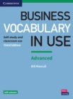 Image for Business vocabulary in use: Advanced edition with answers