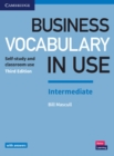 Image for Business vocabulary in use: Intermediate book with answers