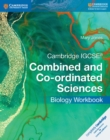 Image for Cambridge IGCSE combined and co-ordinated sciences biology: Workbook