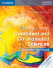 Image for Cambridge IGCSE combined and co-ordinated sciences chemistry: Workbook