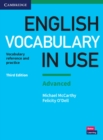 Image for English vocabulary in use  : vocabulary reference and practiceAdvanced,: With answers
