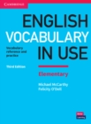 Image for English vocabulary in use  : vocabulary reference and practiceElementary book with answers