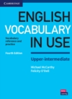 Image for English vocabulary in use  : vocabulary reference and practice: Upper-intermediate book with answers