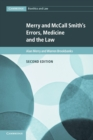 Image for Merry and McCall Smith's errors, medicine and the law