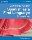Image for Cambridge IGCSE Spanish as a First Language Coursebook Digital Edition