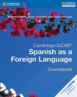 Image for Cambridge IGCSE (R) Spanish as a Foreign Language Coursebook with Audio CD