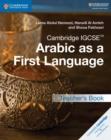 Image for Cambridge IGCSE Arabic as a first language: Teacher's book