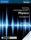 Image for Cambridge IGCSE physics: Coursebook