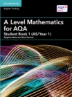 Image for A Level mathematics for AQAStudent book 1 (AS/Year 1)
