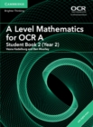 Image for A level mathematics for OCR AYear 2, student book 2