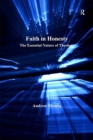 Image for Faith in honesty: the essential nature of theology