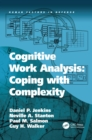 Image for Cognitive work analysis: coping with complexity
