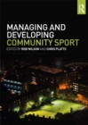 Image for Managing and developing community sport
