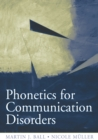 Image for Phonetics for communication disorders