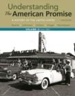 Image for UNDERSTANDING THE AMERICAN PROMISE VOLUM