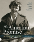 Image for AMERICAN PROMISE A CONCISE HISTORY VOLUM