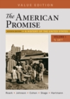 Image for AMERICAN PROMISE VALUE EDITION VOLUME 1