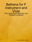 Image for Bethena for F Instrument and Viola - Pure Duet Sheet Music By Lars Christian Lundholm