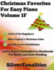 Image for Christmas Favorites for Easy Piano Volume 1 F