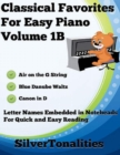 Image for Classical Favorites for Easy Piano Volume 1 B