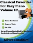 Image for Classical Favorites for Easy Piano Volume 1 C