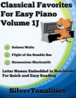 Image for Classical Favorites for Easy Piano Volume 1 J