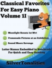 Image for Classical Favorites for Easy Piano Volume 1 I